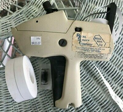 Monarch 1115 2-line Price Tag Gun Label Marker For Parts Or Repair