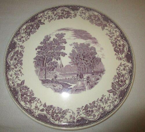 "Royal Tudor Ware Lavender Cake Plate Platter 11"" Barker Bros. Ltd."