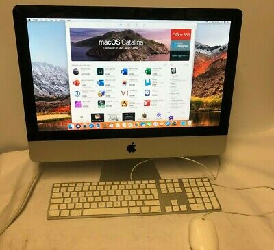 "Apple iMac (21.5"", Mid 2011) with Intel Core i5, 8GB and MacOs High Sierra"