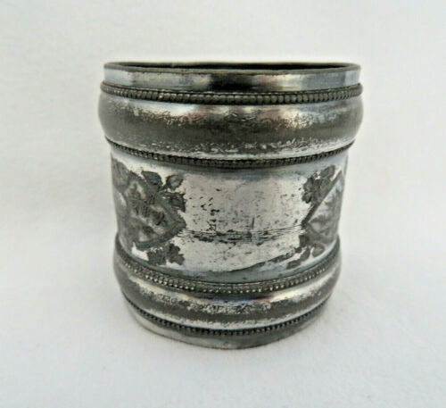 Antique Victorian Silver Plated Napkin Ring ~ No Monogram