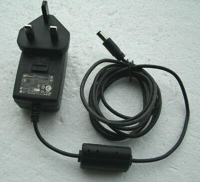 GENUINE WATCHGUARD GT-41025-1512 AC/DC ADAPTER 12V 1.25A UK PLUG 140-2276-001