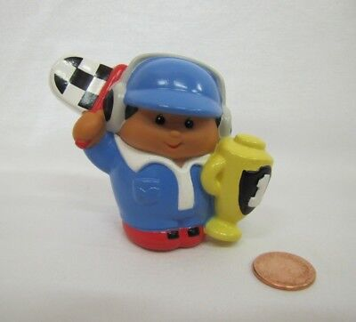 Racing Flags For Kids (New! LITTLE TIKES Chunky RACE CAR WORKER DRIVER w/ FLAG TROPHY for LITTLE)