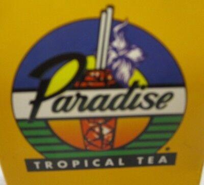 Iced Tea Filter Bags ((6)  Paradise Tropical Iced Tea 1oz Filter Bags)