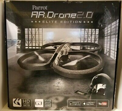 NEW IN BOX Parrot AR Drone 2.0 Elite Edition Snow Camo HD Camera