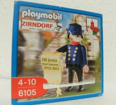 Playmobil Special Zirndorf Soldat Gendarm 6105 Neu & OVP Pickelhaube Bolli