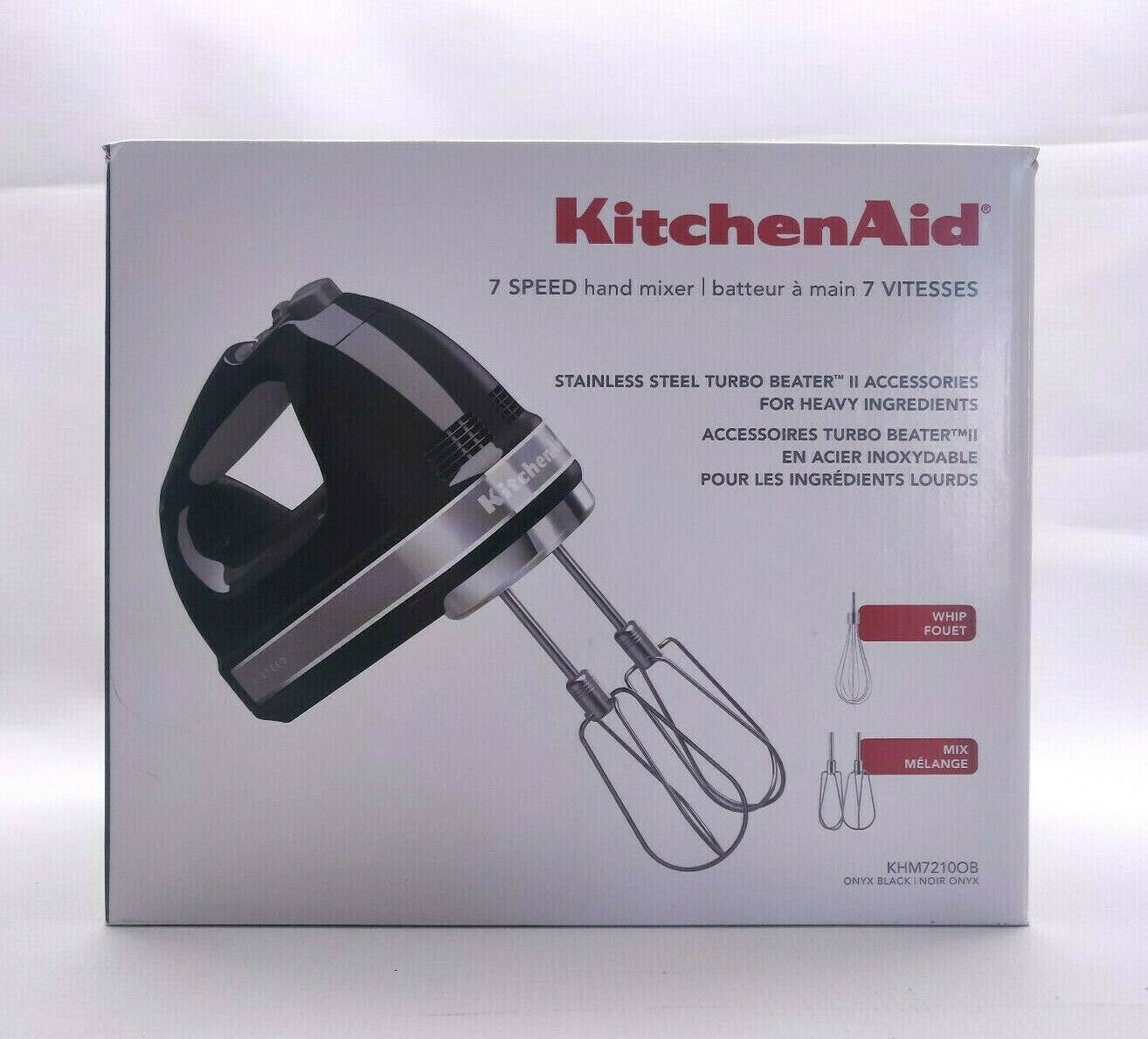 KitchenAid® 7-Speed Digital Control Hand Mixer with Whis