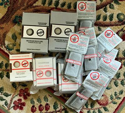 Silica Gel Lot 12 Pcs Hydrosorbent Dehumidifier Packs 2 450g 3 200g 740g