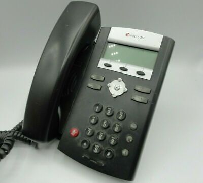Polycom Soundpoint Ip 331 Sip Voip Poe Desktop Business Office Phonepower Cord