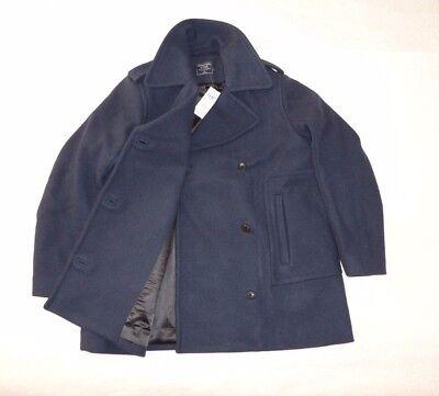 "Womens Abercrombie & Fitch ""Wool Blend Peacoat"" Coat Jacket size XL 39""-40"""