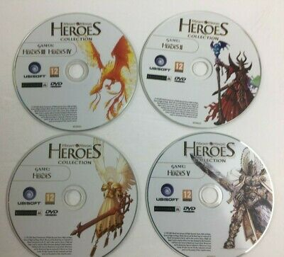 Heroes of Might and Magic Complete Collection Edition (PC DVD-ROM, (Heroes Of Might And Magic Complete Collection)