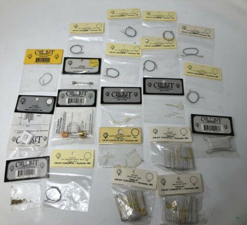 Miniature Dollhouse Cir-Kit Lot Wire, wheat Bulb, Brass, fluorette bulb and more