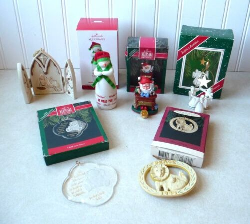 Hallmark Christmas Ornaments Lot of 6