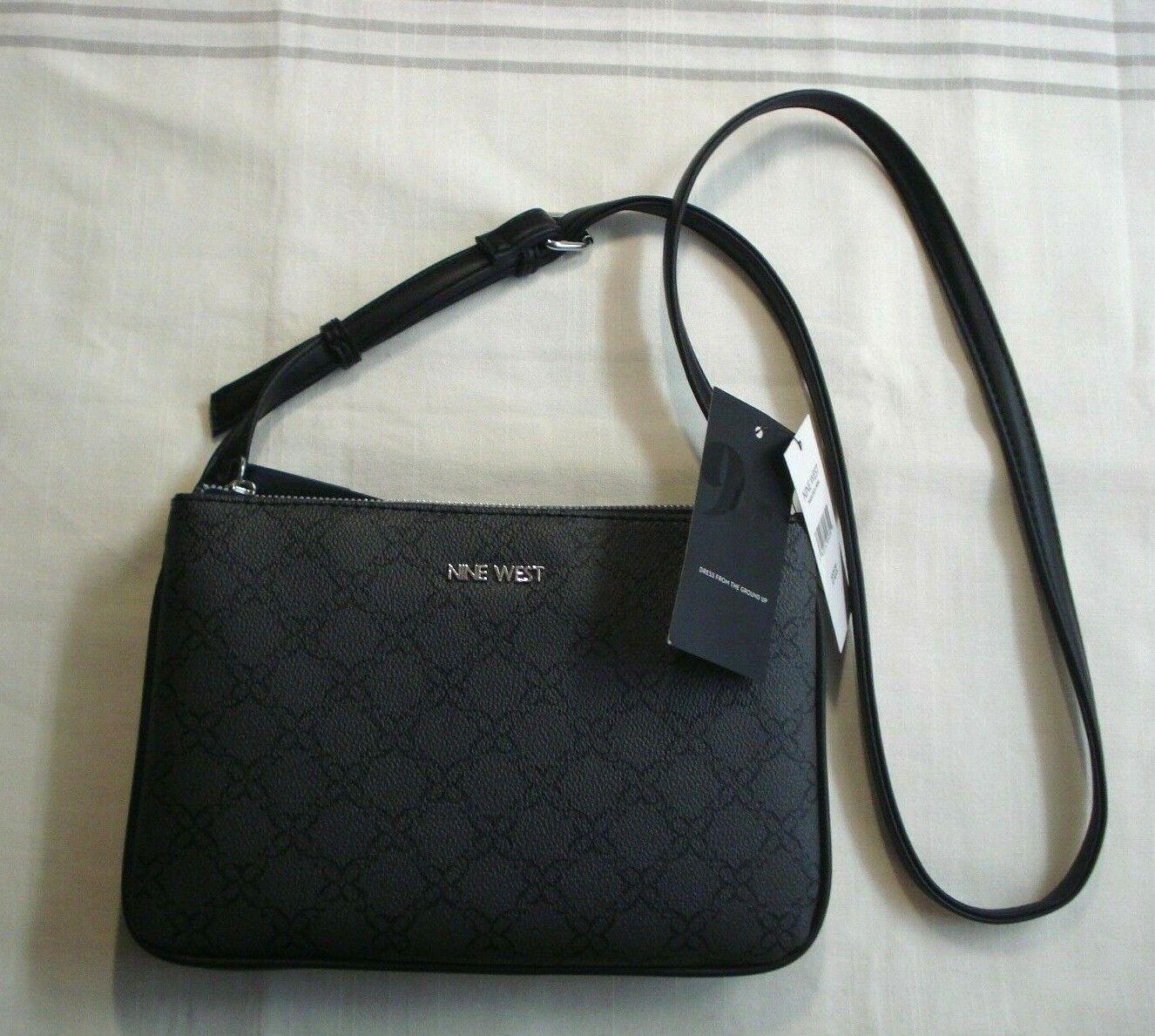 womens purse cross body handbag 2 pockets