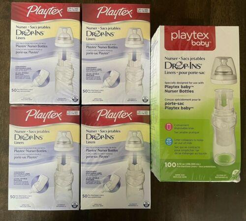 Playtex Baby Nurser Drop Ins Liners 8-10 oz and 4 oz