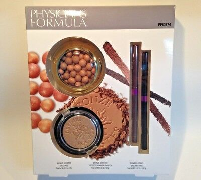 - Physicians Formula Bronze Booster Shimmer Strips Set $35 VALUE Limited Edition