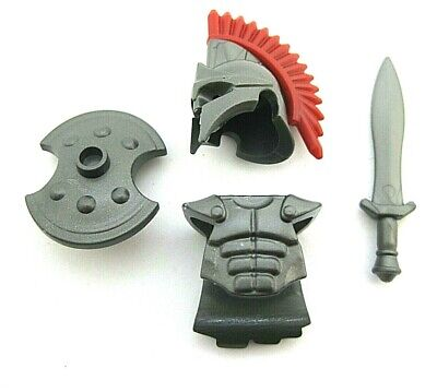 Custom TROJAN ARMOR & WEAPON PACK for Lego Minifigures Ancient Greece TROY, used for sale  Shipping to Nigeria