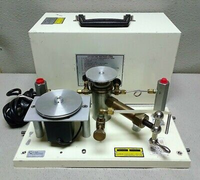 Vintage Eg G Chandler Engineering 61-35 Dead Weight Tester 3778