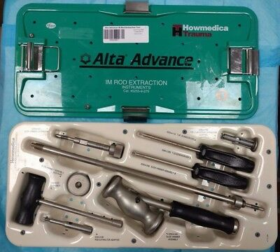 Howmedica 5255-9-275 Alta Advance Im Rod Extraction Instruments Set Complete Set