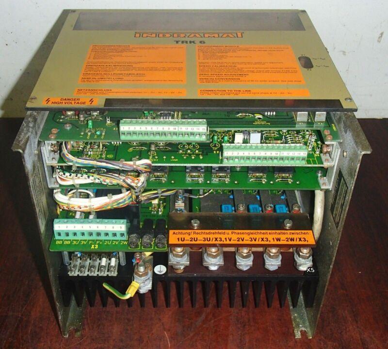 Indramat Trk6 Amplifier Trk6-4u-380/60-g0/591 _ Trk64u38060g0591