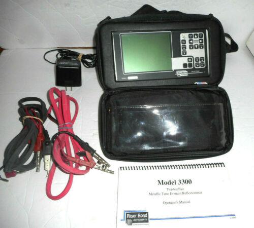 Riser Bond 3300 TDR Cable Fault Locator Reflectometer