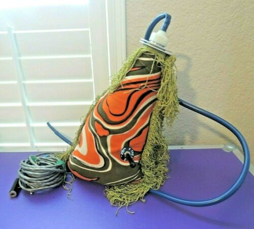 RARE 1969 Kustom The Bag Talk Box Effect Orange/Green Frill Vintage & Working