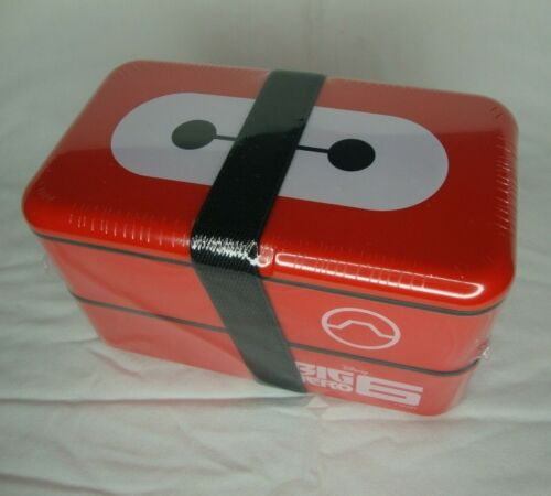 Big Hero 6 Baymax Bento Lunch Box Kit with Utensils Loot Crate Excl
