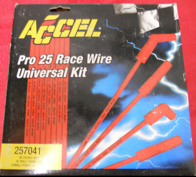 ACCEL PRO 25 RACE WIRE UNIVERSAL KIT - PART NUMBER -
