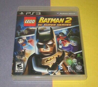 LEGO Batman 2 DC Super Heroes PlayStation 3 Complete Mint Disc (Lego Batman 2 Dc Super Heroes Ps3)