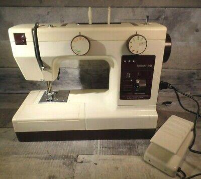 - Vintage PFAFF Dorina Model Hobby 741 Sewing Machine CLean w Case