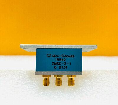 Mini-circuits Zmsc-2-1 1 To 400 Mhz 2 Way 0 Power Splitter Combiner. New