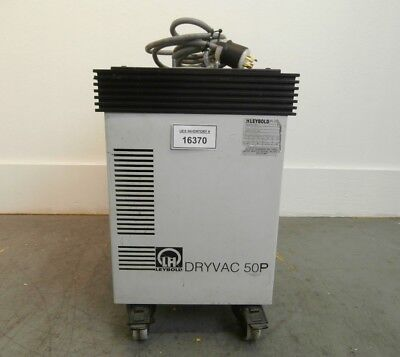 Dryvac 50 P Leybold E13833 Dry Vacuum Pump 9 Mtorr Used Tested Working