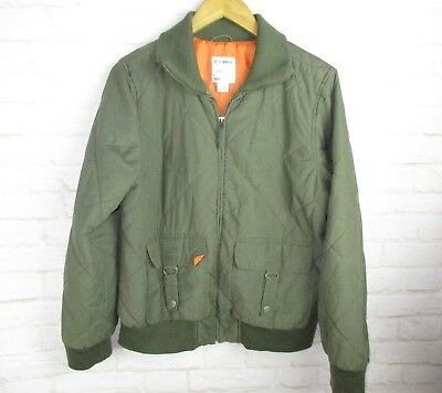 Old Navy Boys size XL Army Green Military Style Insulated Jacket - Military Boys