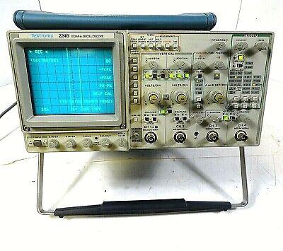 Tektronix 2246 100mhz Oscilloscope 4 Channels - Free Shipping