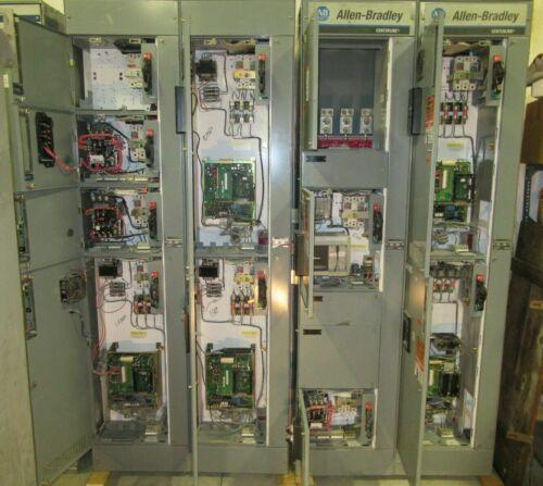 Allen Bradley BUL-2100 CENTERLINE Motor Control Center w/ VFDs -SEE DESCRIPTION