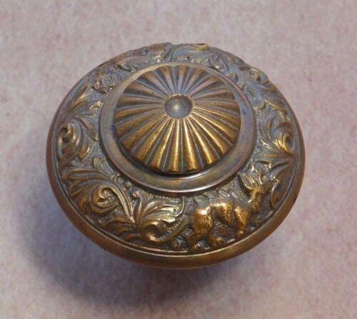 Corbin Empire antique doorknob cast bronze ornate victorian M-12800 vintage door