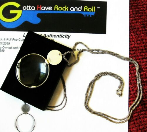 MADONNA PERSONALLY OWNED EXPRESS YOURSELF TIFFANY MONOCLE PROMO LOA AUTHENTICITY