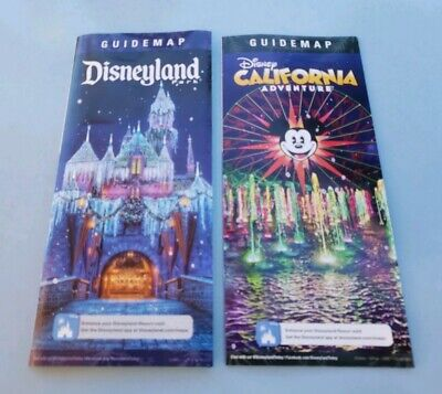 Disneyland / Disney California Adventure Guide Map 2019 (Disneyland California Adventure)