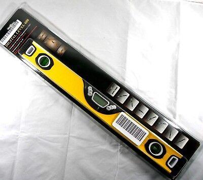 Wasserwaage Digital Level 600. Länge: 600mm genauigkeit Neigungsmessung +/- 0,1°