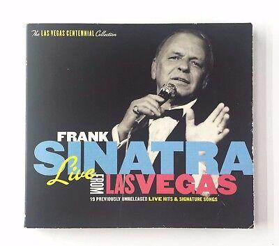 Frank Sinatra Live From Las Vegas  19 Songs  Audio Cd  Capital Records