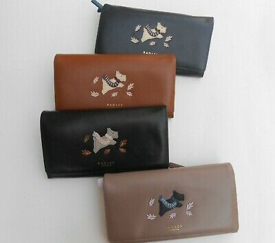 RADLEY Autumn Leaves LARGE FLAP OVER MATINEE PURSE RRP £89