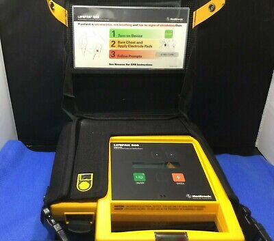 Medtronic Lifepak 500 Biphasic Aed W Carry Case No Battery Or Charger Ekp