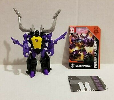Transformers Power of the Primes Legends Insecticon SKRAPNEL Complete Excellent