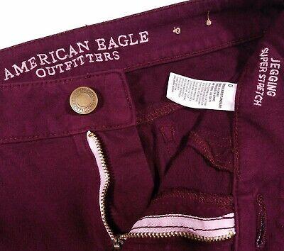 American Eagle Skinny Purple Jegging Jeans Size 0 Women's
