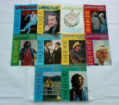 Country Music People Magazine Vintage Music Joblot x 10 (1984/1985)