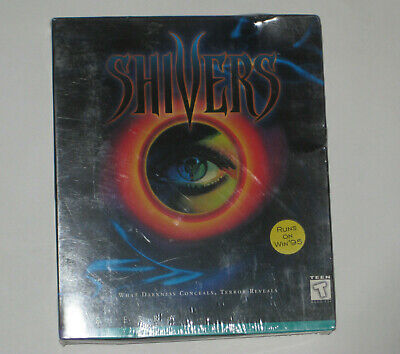 Shivers (PC Windows CD-ROM Game) Big Box by Sierra  BRAND NEW AND FACTORY SEALED