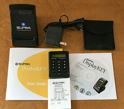 Supra Real Estate Electronic Display Key Case Cradle Adapter Cd Manual
