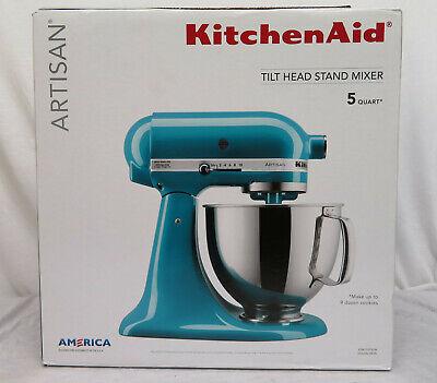 KitchenAid Artisan Tilt-Head Stand Mixer Ocean Drive 5-Quart 4.7 L OPEN BOX