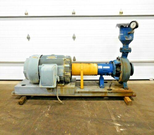 MO-3937, FLOWSERVE MK3 STD CENTRIFUGAL PUMP W/ 150 HP MOTOR. 3K6x4-16RV/15.38.