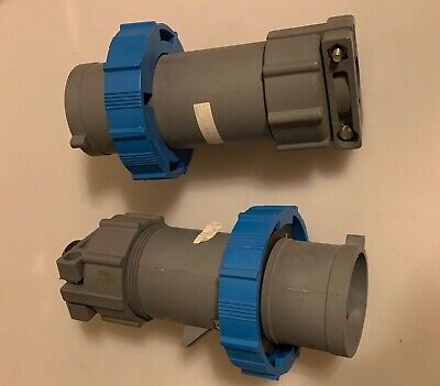 Lot Of 2 Russellstoll Rs430p9wvob16978 Plug Connector 30-amp 250 Vac