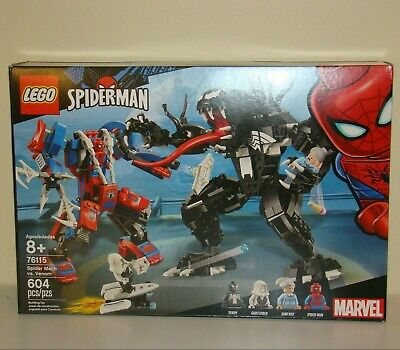 Lego Spider-Man Spider Mech vs Venom 604pcs #76115 NEW Sealed